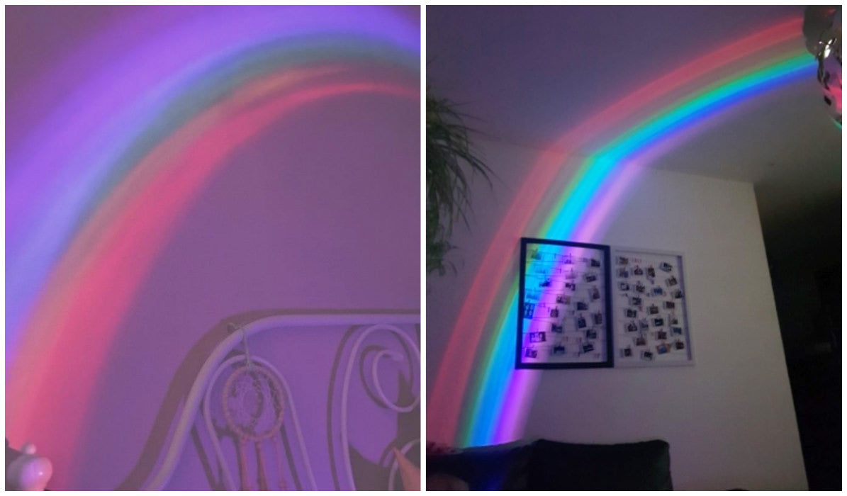 Rainbow Clothing and Accessories Rainbow light Shine Bedroom interior Night Lamp itGirl Shop Blog