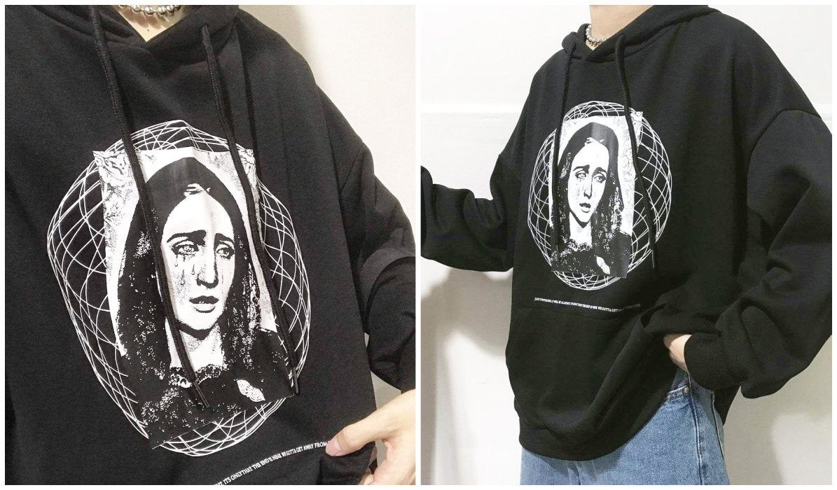 Top 11 Aesthetic Hoodies The Virgin Mary Aesthetic Hoodie itGirl Shop Blog