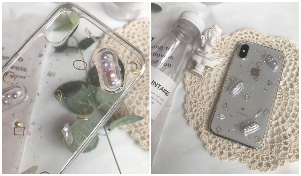 Transparent iPhone Cases Capsule Pills Transparent iPhone Cover itGirl Shop Blog.jpg