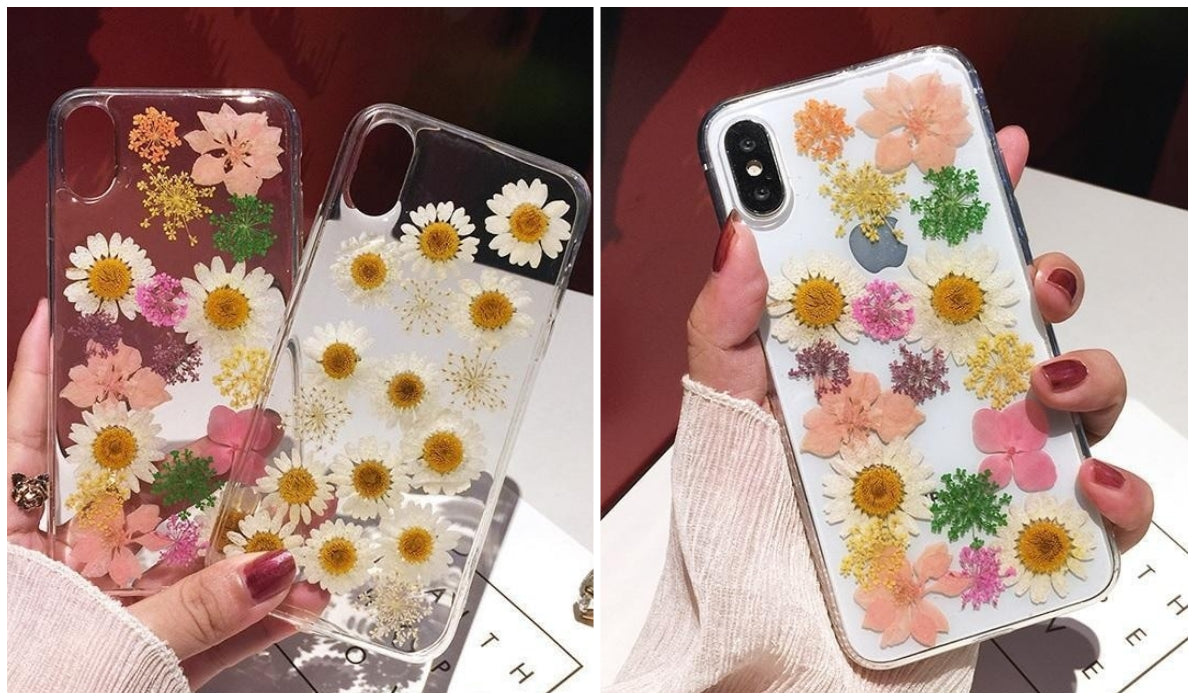 Transparent iPhone Cases Herbarium Flowers Transparent iPhone Case itGirl Shop Blog