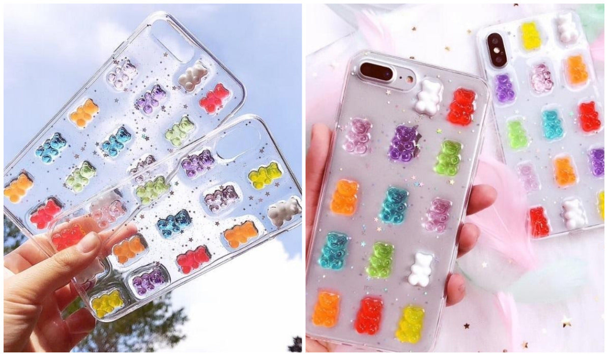 Transparent iPhone Cases Transparent Gummy Bears iPhone Case itGirl Shop Blog
