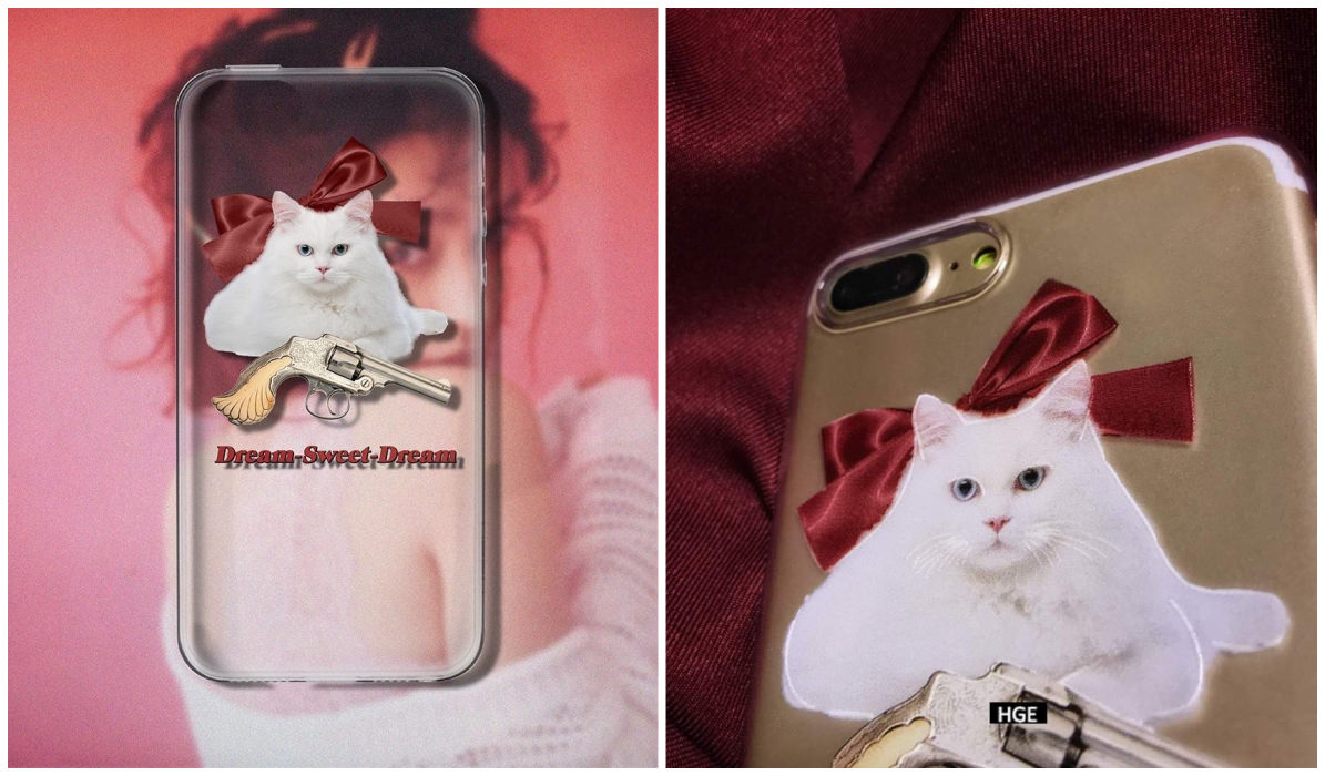 Transparent iPhone Cases Transparent Revolver Cat iPhone Case itGirl Shop Blog