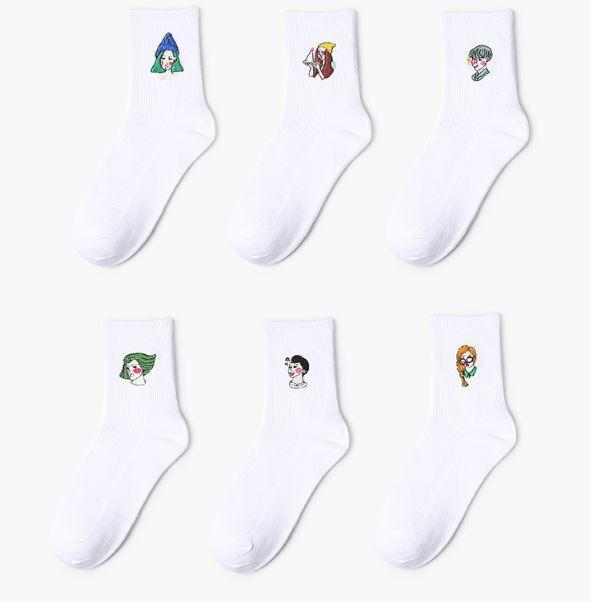 itGirl Shop AESTHETIC GIRL PRINT SOCKS