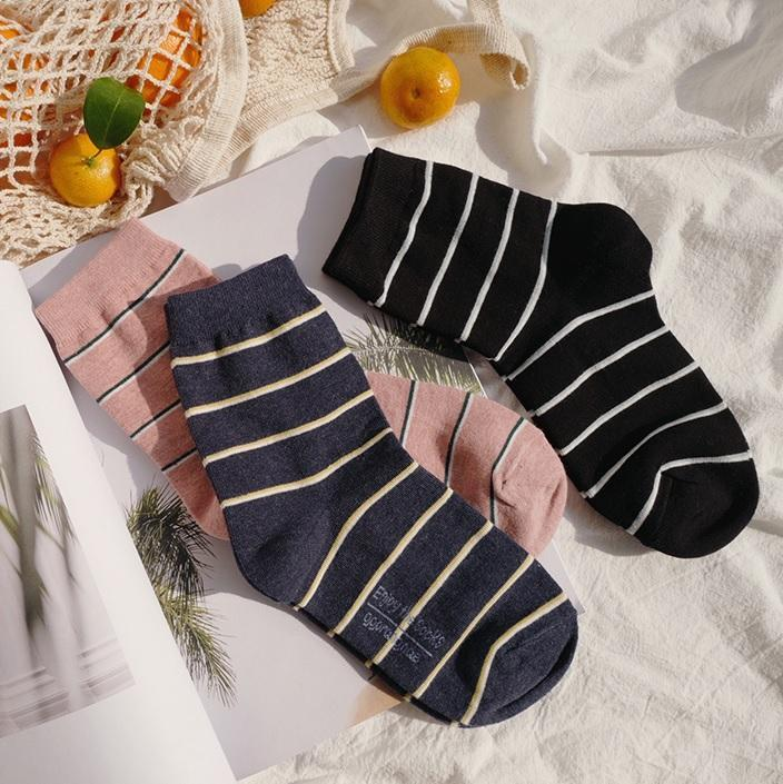 itGirl Shop AESTHETIC THIN LINES PINK GREEN COTTON ANKLE SOCKS Aesthetic Apparel, Tumblr Clothes, Soft Grunge, Pastel goth, Harajuku fashion. Korean and Japan Style looks