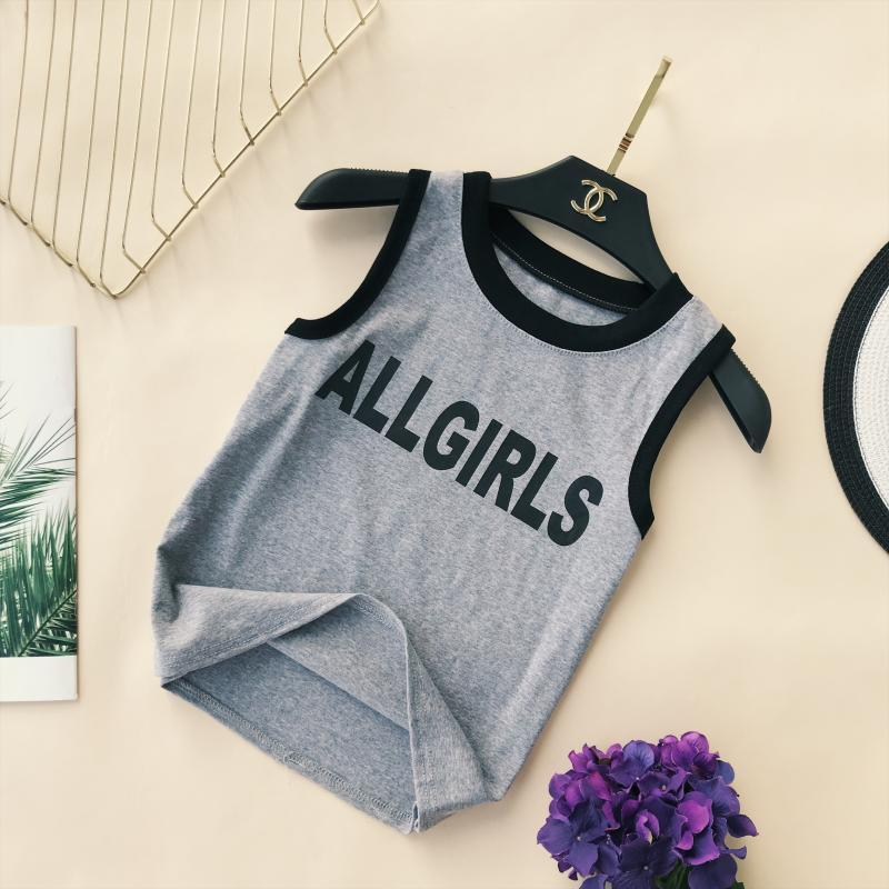 itGirl Shop ALL GIRLS SPORTY ROUND NECK SINGLET TOP