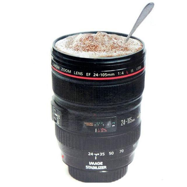 itGirl Shop CAMERA LENS COFFEE 400ML CUP