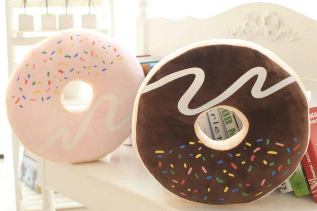 itGirl Shop CHOCOLATE DONUT PILLOW