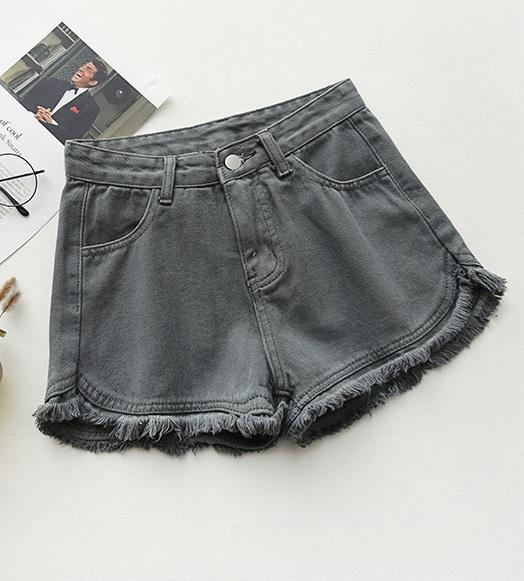 itGirl Shop COLORFUL DENIM SUMMER CASUAL SHORTS