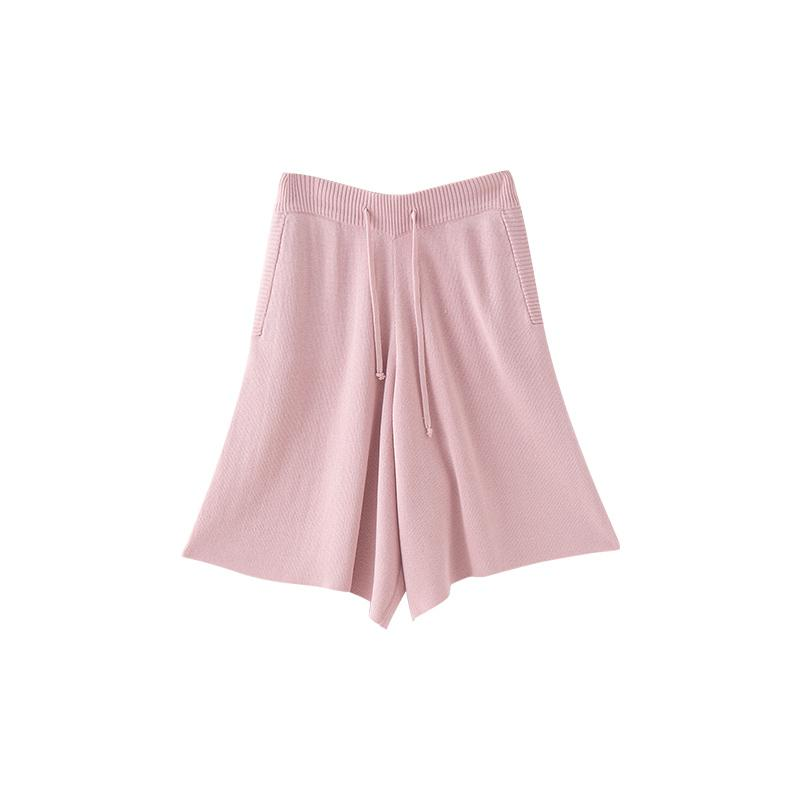 itGirl Shop COMFY PASTEL AESTHETIC ELASTIC WAIST LOOSE SHORTS