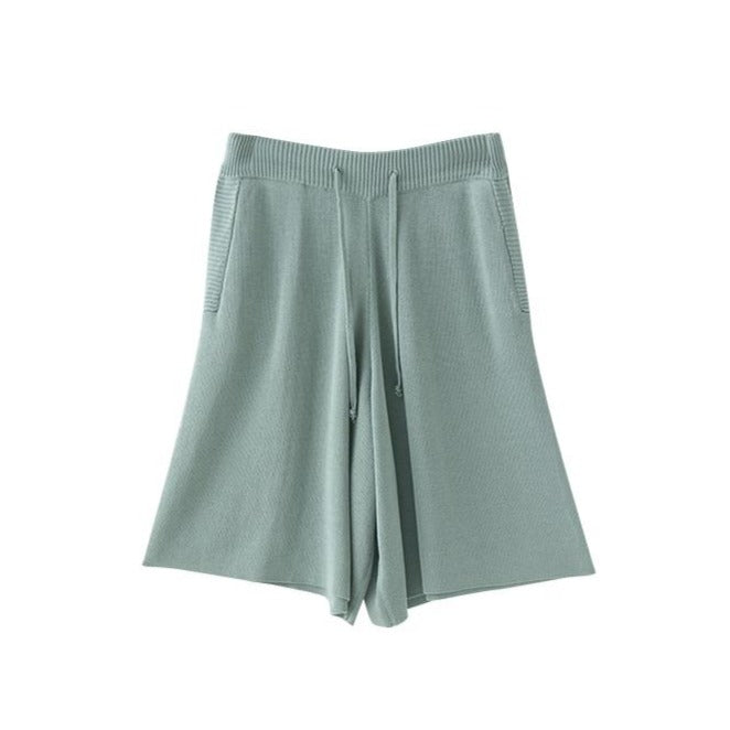 COMFY PASTEL AESTHETIC ELASTIC WAIST LOOSE SHORTS