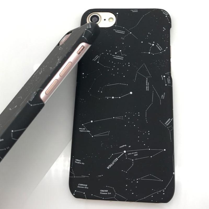 itGirl Shop CONSTELLATON NIGHT SKY STARS IPHONE CASE