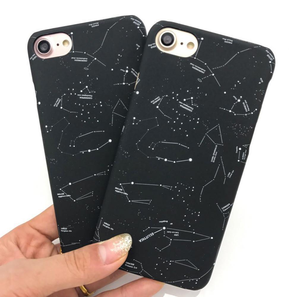 itGirl Shop CONSTELLATON NIGHT SKY STARS IPHONE CASE Aesthetic Apparel, Tumblr Clothes, Soft Grunge, Pastel goth, Harajuku fashion. Korean and Japan Style looks