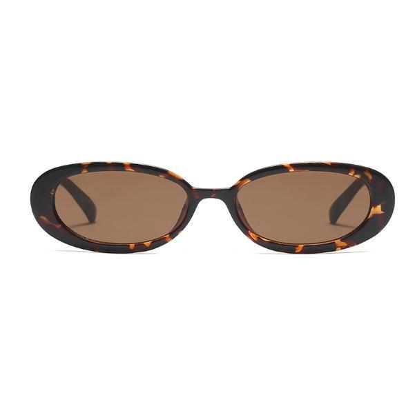itGirl Shop COW PRINT COLORFUL GRUNGE PLASTIC FRAME SUNGLASSES