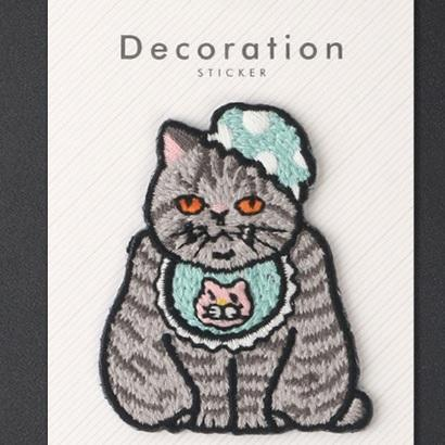 itGirl Shop CUTE FASHION KITTENS CULTURAL EMBROIDERED PATCH