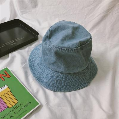 itGirl Shop DENIM TEENAGE FASHION 90s FISHERMAN BUCKET HAT