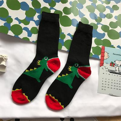 DINOSAUR DOG CARTOON CREATIVE LONG SOCKS