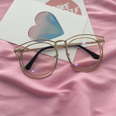 itGirl Shop DOUBLE METALLIC FRAME CLEAR KOREAN STYLE GLASSES