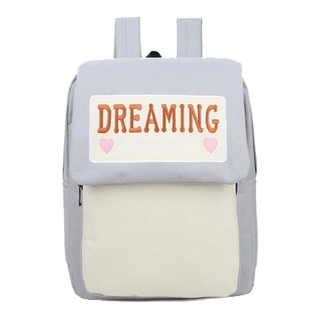 itGirl Shop DREAMING COLLEGE BACKPACK