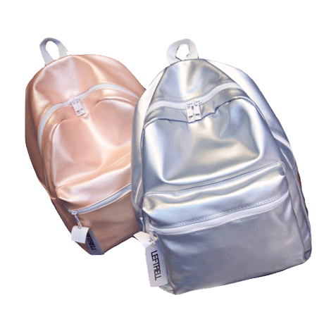 itGirl Shop GLOSSY SHINE SPORTISH BACKPACK Aesthetic Apparel, Tumblr Clothes, Soft Grunge, Pastel goth, Harajuku fashion. Korean and Japan Style looks