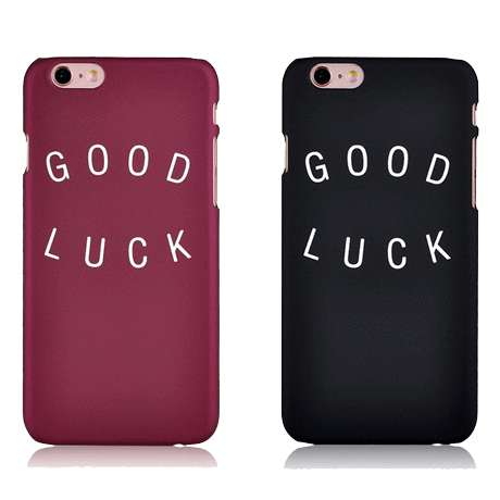 itGirl Shop GOOD LUCK IPHONE CASE