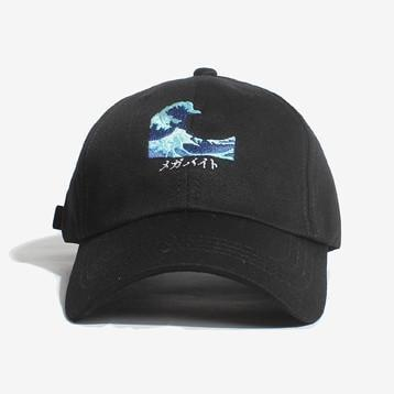 itGirl Shop GREAT WAVE EMBROIDERY CAP