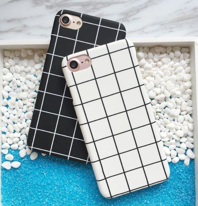 itGirl Shop GRID PLASTIC IPHONE 6 CASE Aesthetic Apparel, Tumblr Clothes, Soft Grunge, Pastel goth, Harajuku fashion. Korean and Japan Style looks