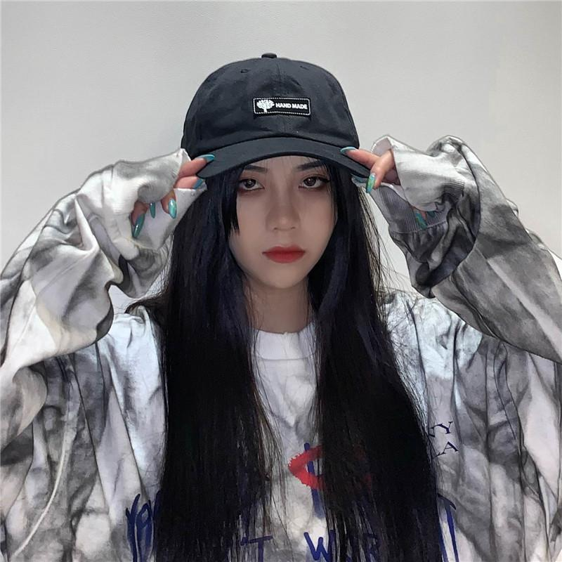 itGirl Shop GRUNGE AESTHETIC BACK GLASSES PILOT BASEBALL CAP