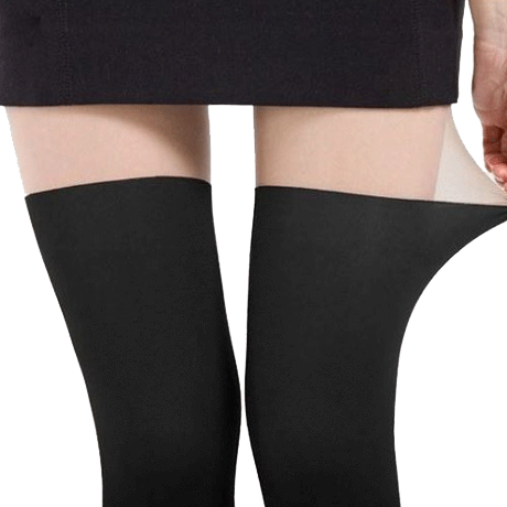itGirl Shop HALF BLACK WOMEN TIGHTS