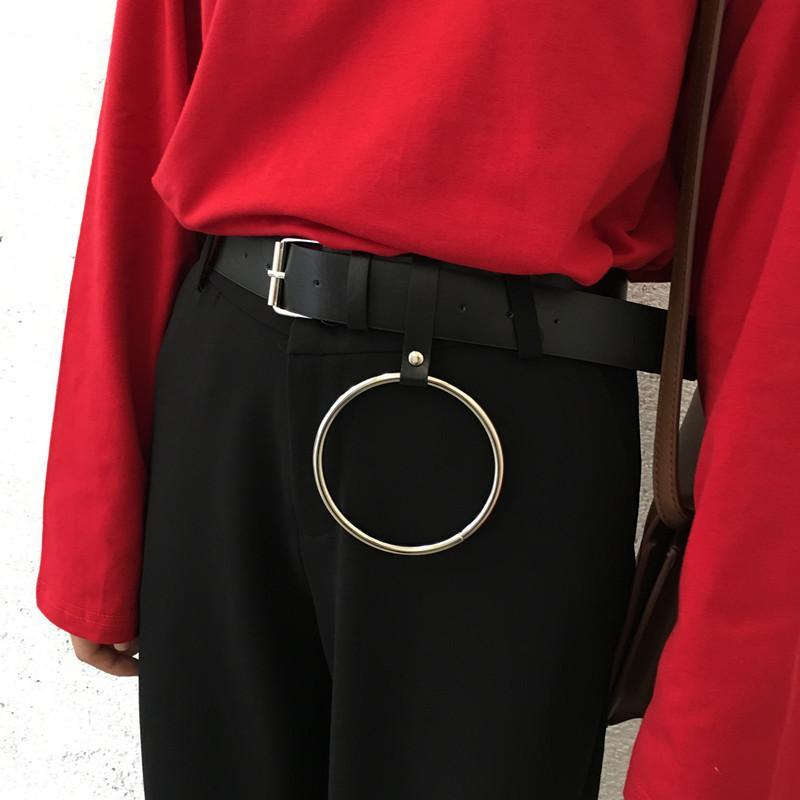 Buy Cheap Aesthetic Clothing HUGE RING KEY CHAIN MINIMALISTIC BELT Sale 30% OFF itGirl Shop itgirlclothing.com