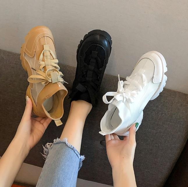 itGirl Shop KOREAN AESTHETIC THIN CANVAS SPORTY OUTDOORS SNEAKERS