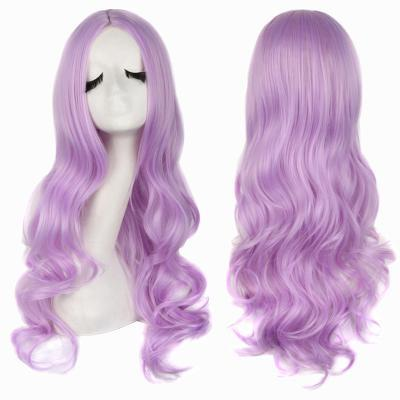 itGirl Shop LONG WAVY FAUX COLORFUL HAIR WIG