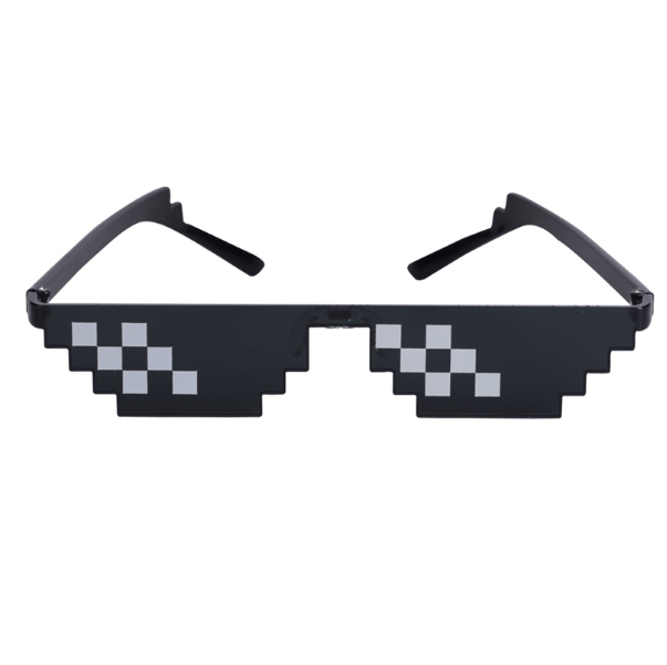 itGirl Shop MEME DEAL WITH IT GLASSES THUG LIFE PIXCEL ART
