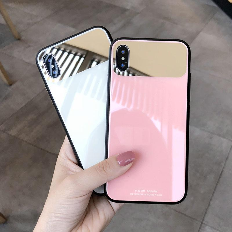itGirl Shop MIRROR SOLID COLORS GLOSSY IPHONE COVER CASE