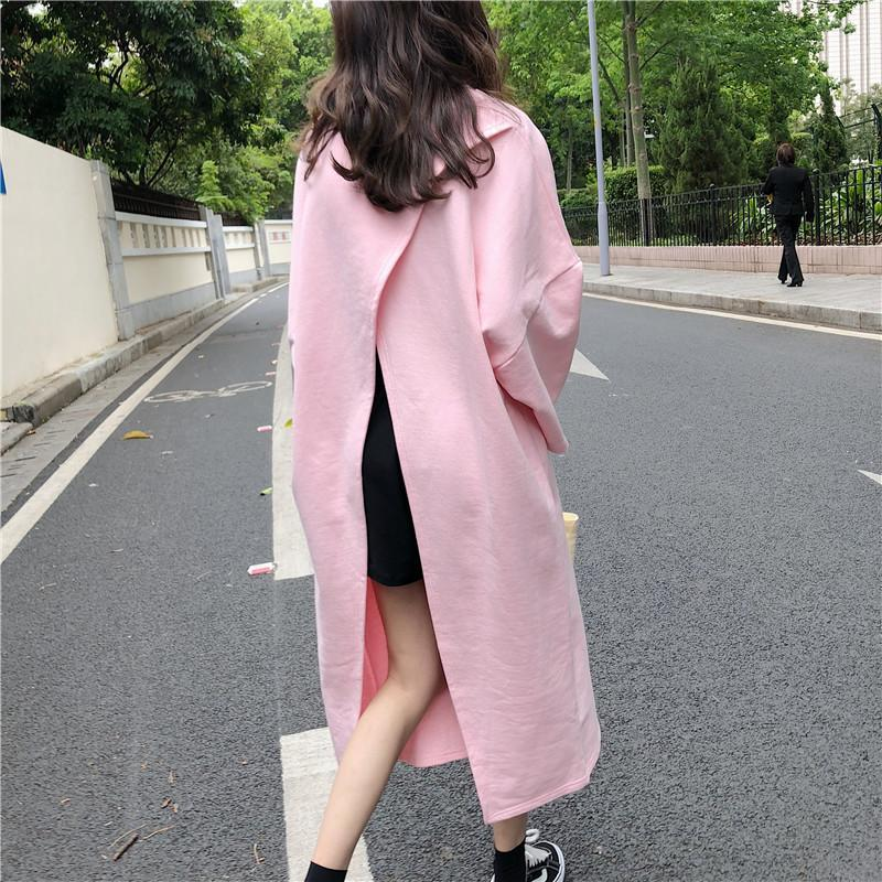 itGirl Shop OVERSIZED OPEN BACK DRESS LONG SHIRT
