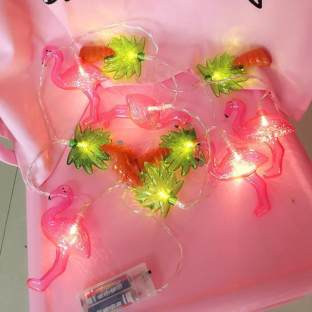 itGirl Shop PALMS WITH FLAMINGOS DECOR GARLAND Aesthetic Apparel, Tumblr Clothes, Soft Grunge, Pastel goth, Harajuku fashion. Korean and Japan Style looks
