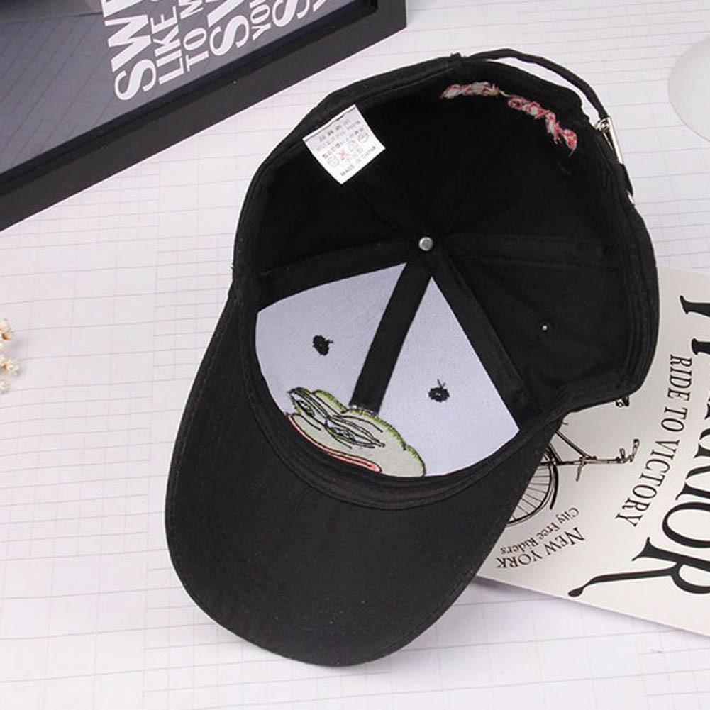 Buy Cheap Aesthetic Clothing PEPE SAD FROG MEME EMBROIDERY CAP Sale 30% OFF itGirl Shop itgirlclothing.com