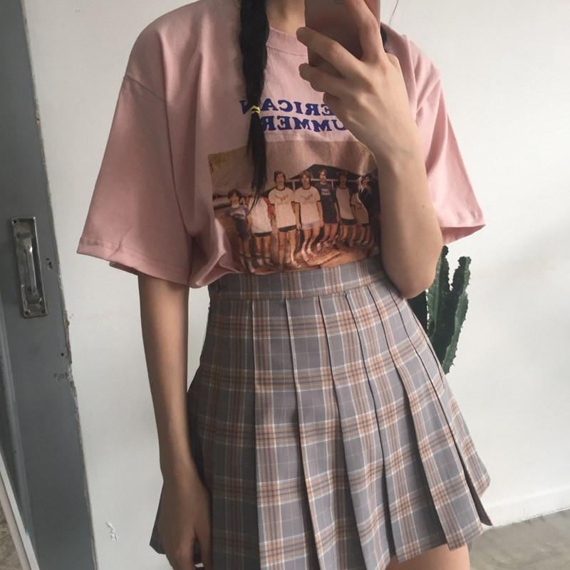 Buy Cheap Aesthetic Clothing PLAID CUTE SCHOOL STYLE PLEATED SKIRT Sale 30% OFF itGirl Shop itgirlclothing.com