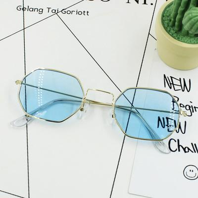 itGirl Shop RHOMBUS SHAPE METALLIC FRAME COLORFUL SUNGLASSES Aesthetic Apparel, Tumblr Clothes, Soft Grunge, Pastel goth, Harajuku fashion. Korean and Japan Style looks