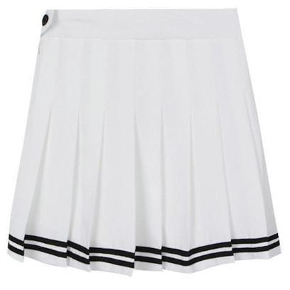 itGirl Shop SAILOR PREPPY MINI PLEATED SKIRT