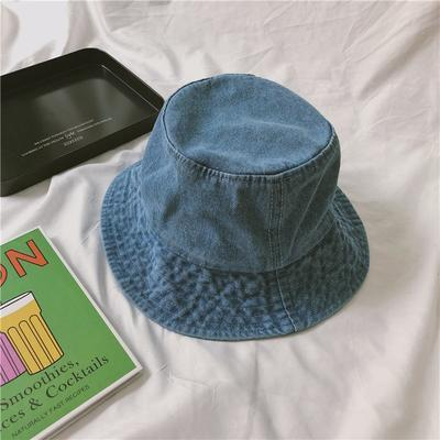 itGirl Shop SALE DENIM TEENAGE FASHION 90s FISHERMAN BUCKET HAT