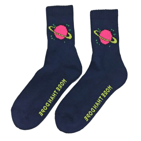 itGirl Shop SATURN PLANET SOCKS