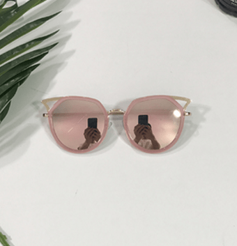 itGirl Shop SHARP METALLIC CORNER BLACK SHADES SUNGLASSES Aesthetic Apparel, Tumblr Clothes, Soft Grunge, Pastel goth, Harajuku fashion. Korean and Japan Style looks