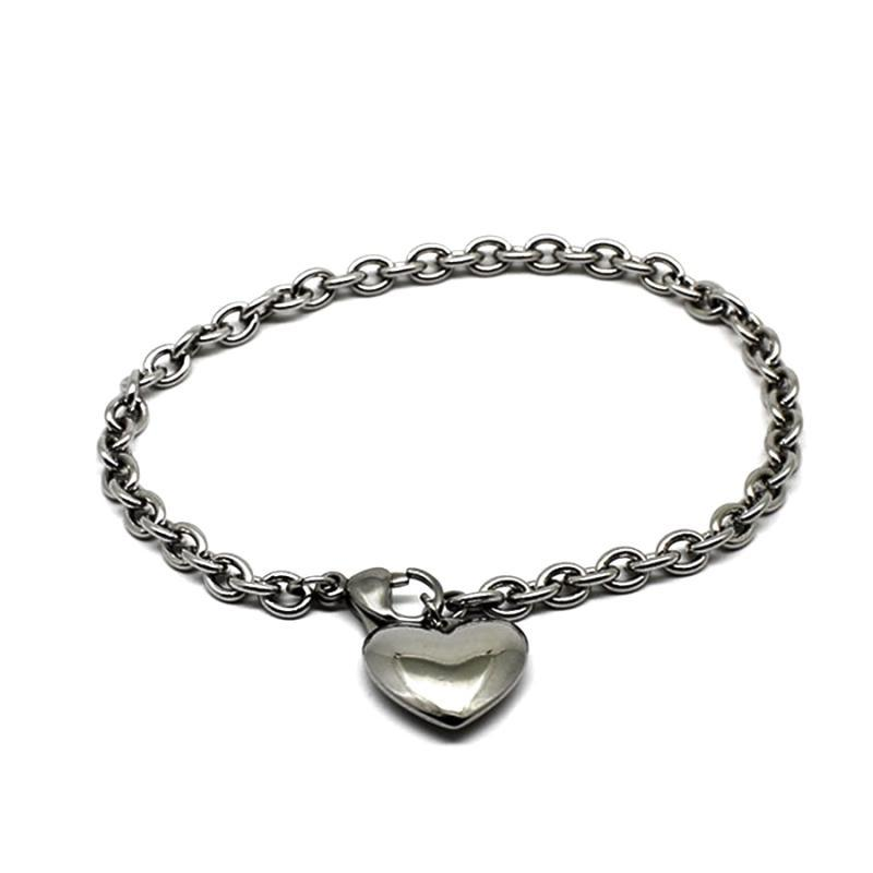 SILVER PLATED METAL CHAINS BRACELETS