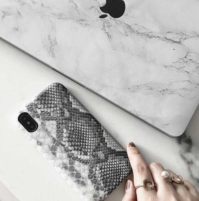 itGirl Shop SNAKE SKIN REALISTIC IPHONE COVER CASE