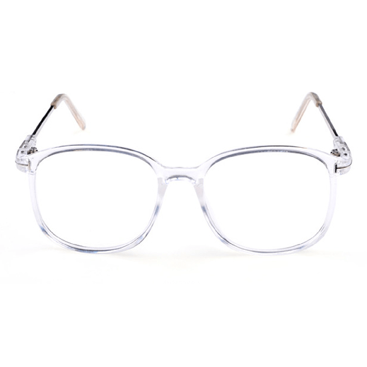 itGirl Shop SQUARE TRANSPARENT CLEAR FRAME PLASTIC GLASSES