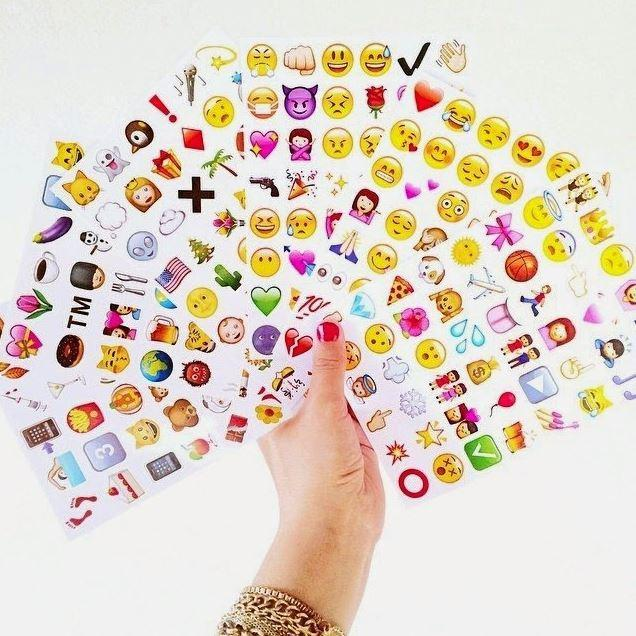itGirl Shop STATIONERY STICKERS EMOJI
