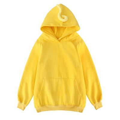 TELETUBBIES BRIGHT COLORS WARM HOODED SWEATSHIRT