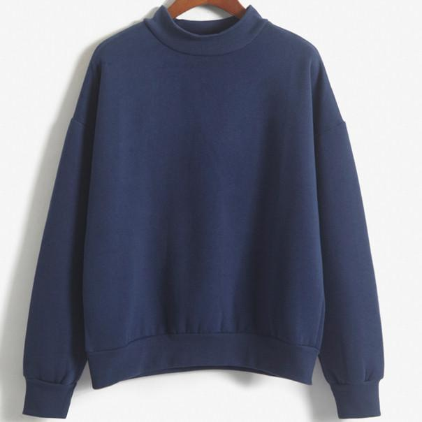 itGirl Shop THICKENING WARM TURTLENECK SWEATSHIRT