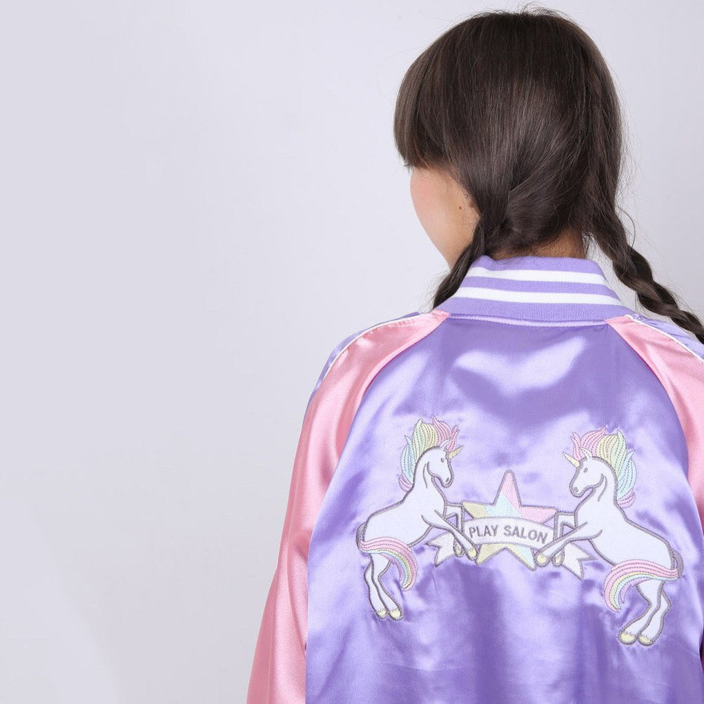 itGirl Shop UNICORN EMBROIDERY BLAZER JACKET
