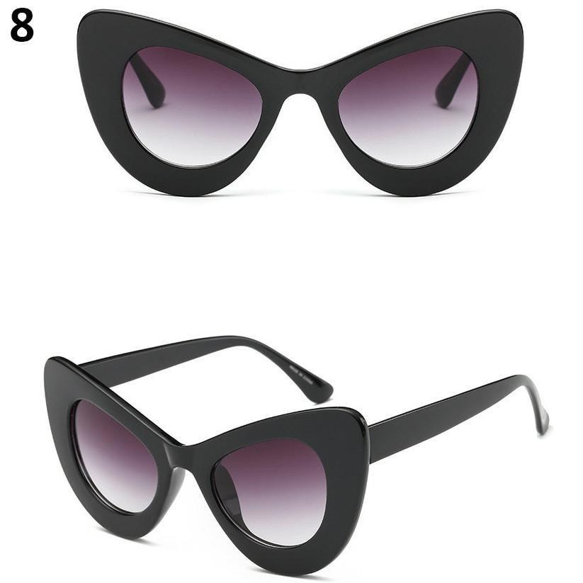 itGirl Shop UP CORNERS VOLUME SUNGLASSES Aesthetic Apparel, Tumblr Clothes, Soft Grunge, Pastel goth, Harajuku fashion. Korean and Japan Style looks